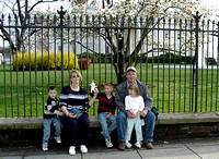 Family at White House